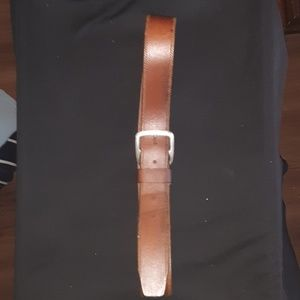 Cole Haan Tooled edged Leather Belt